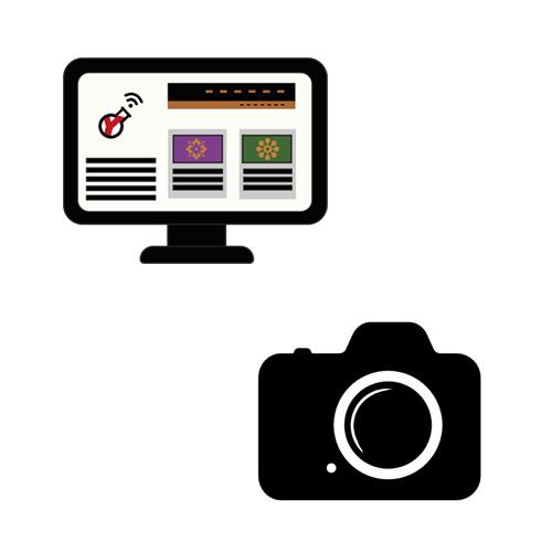 sito web + foto